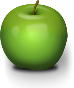 Chrisdesign-Photorealistic-Green-Apple