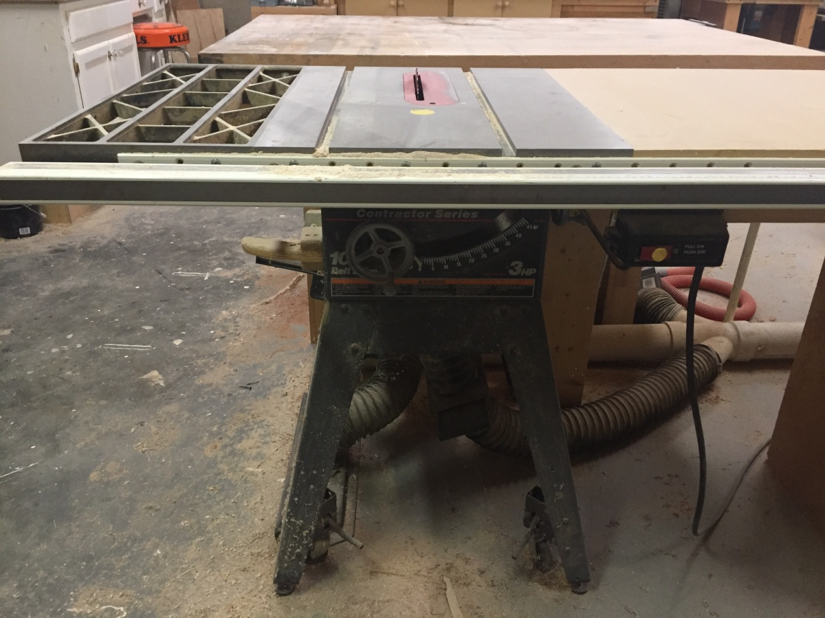 My Stuff Writing Challenge: My Table Saw