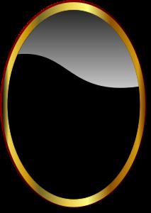 Miroir-ovale
